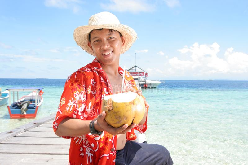 Download Welcome at tropical beach stock photo. Image of tropic - 7025056