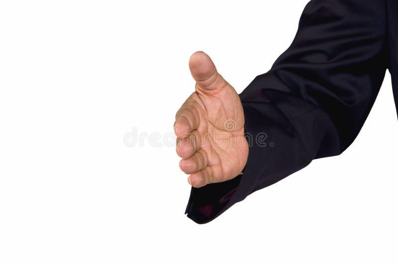 Welcoming Hand Stock Photo