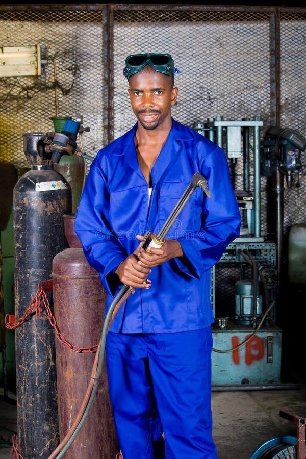 welder фабрики стоковое изображение