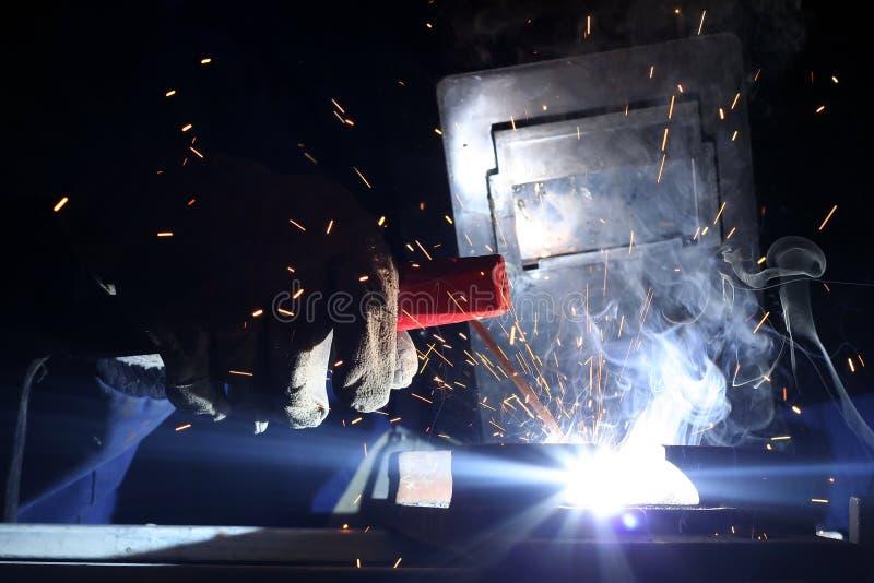 welder стоковая фотография