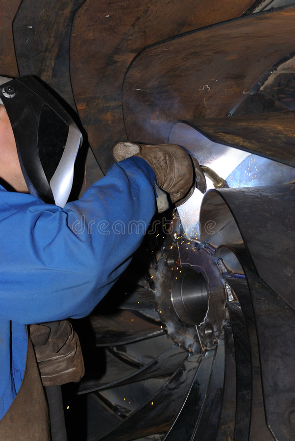 Free Welder At Work. Royalty Free Stock Image - 6353466