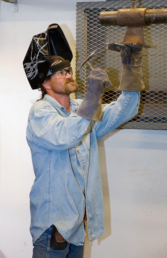 Download Welder Hammering stock photo. Image of hazardous, metalwork - 5760154