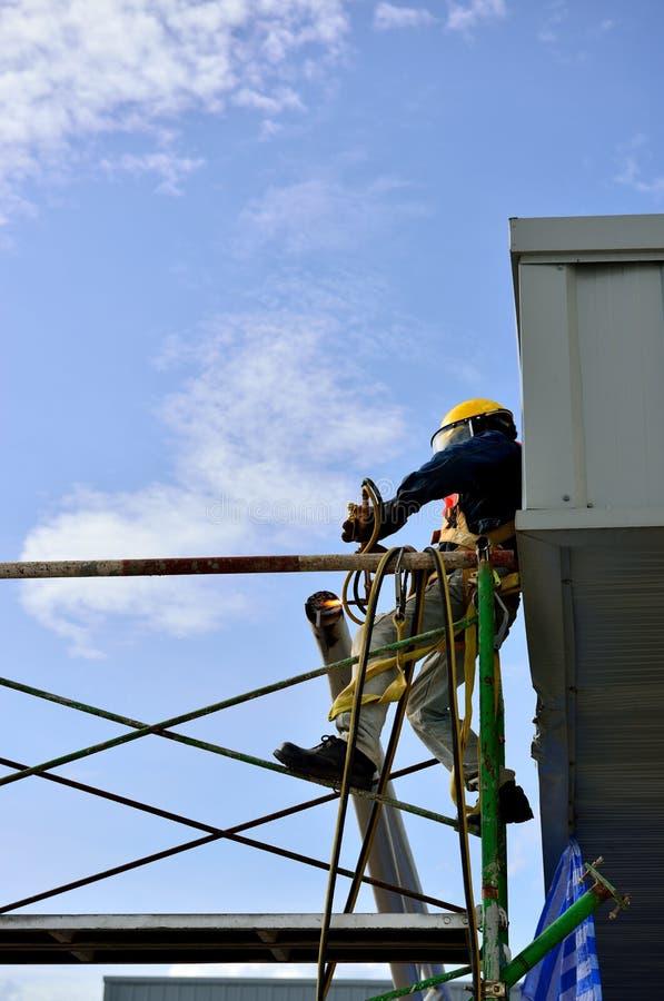 Download The welder man stock photo. Image of work, visor, mask - 25361530