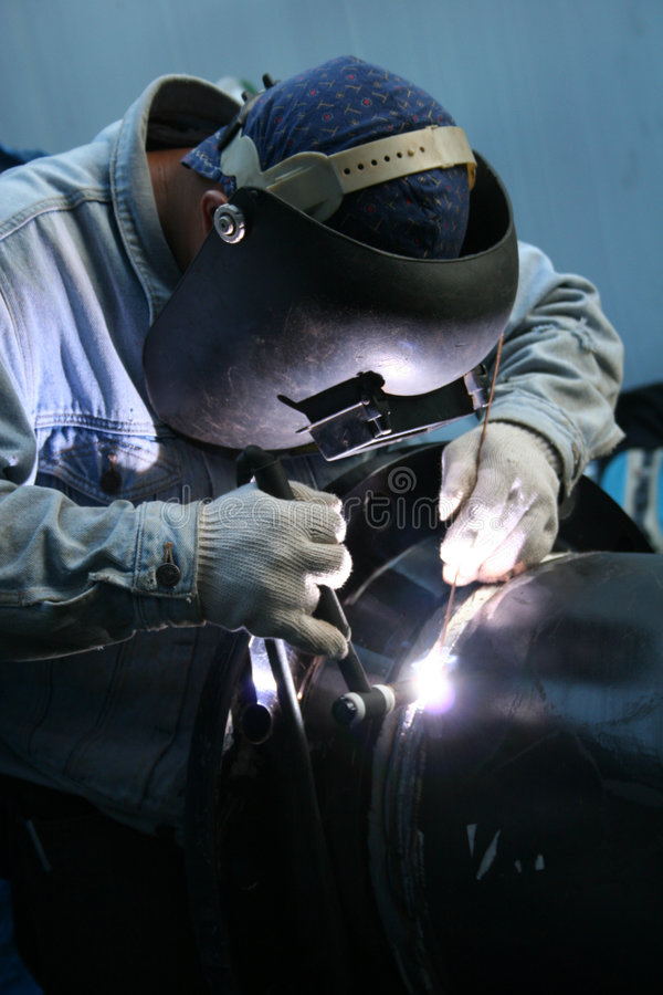 Welder at work 7 stock images
