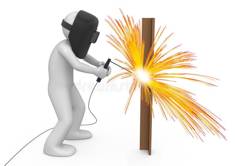Download Welder - Workers stock illustration. Illustration of sparkle - 14577777