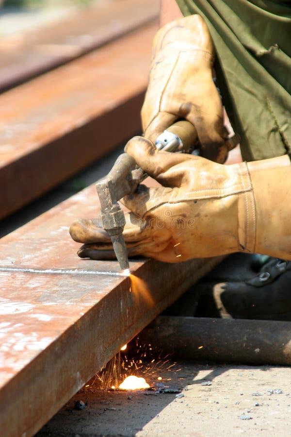 Download Welderarbete arkivfoto. Bild av moget, stål, industri, arbetsplats - 978886