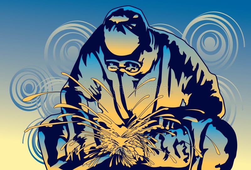 Download Welding stock illustration. Image of mechanic, metal - 14761256