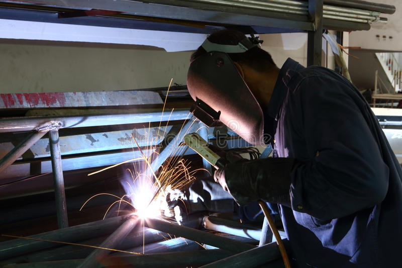 Download Welding stock image. Image of laborer, skilled, occupation - 28016393