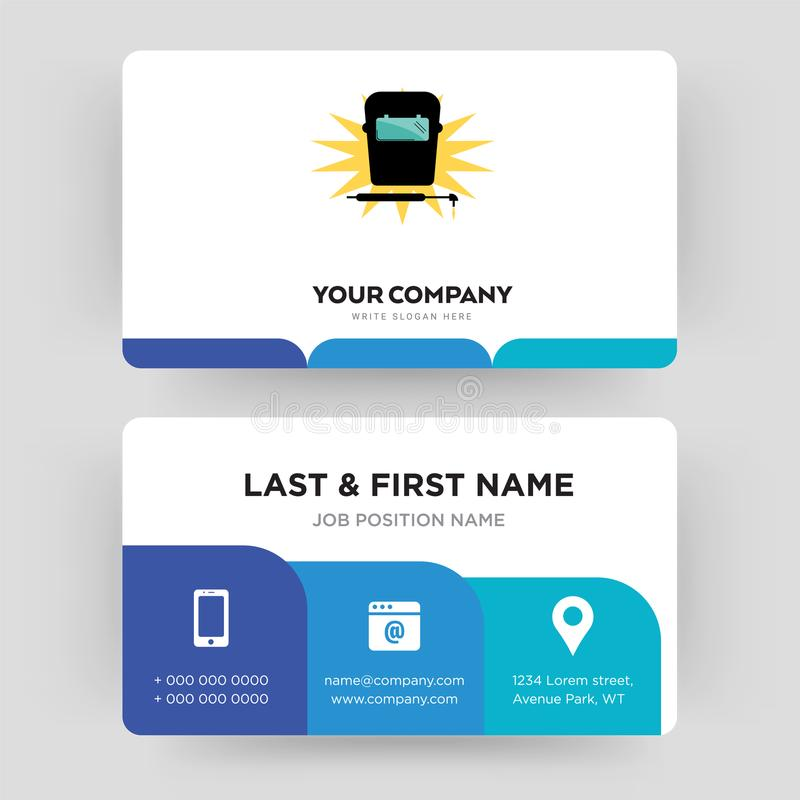 Welding Business Card Design Template, Visiting For Your Company ...