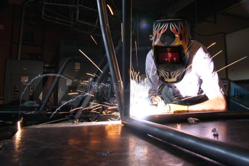 Download Welding Car Frame stock image. Image of mechanic, welding - 18432863