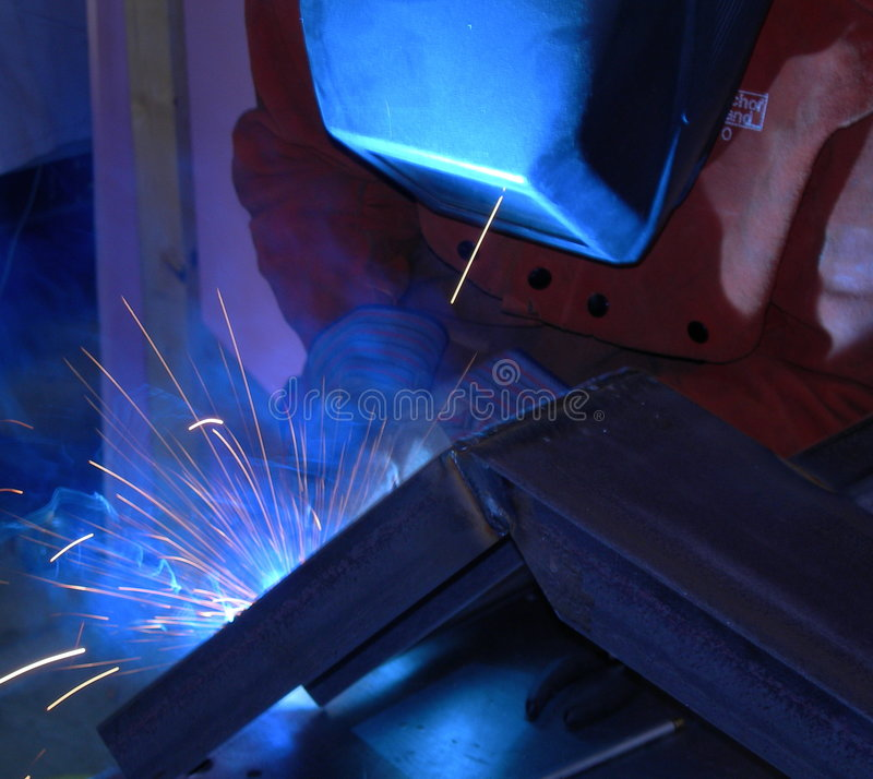 Welding Fabrication royalty free stock photography