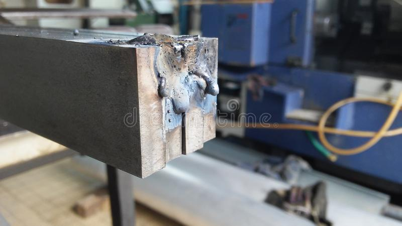 Welding royalty free stock photography