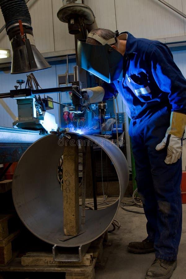Download Welding machine operator stock photo. Image of making - 9929062