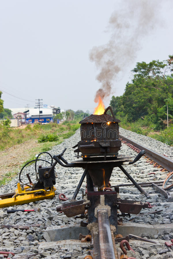 Free Welding Tracks. Royalty Free Stock Photography - 31328187