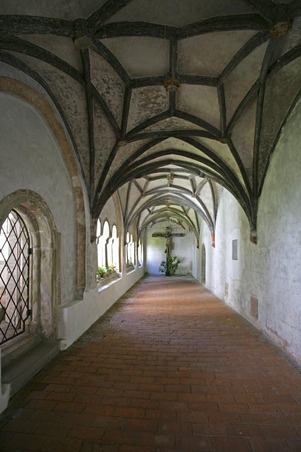 Welfenmuenster i Steingaden, Bayern arkivfoto