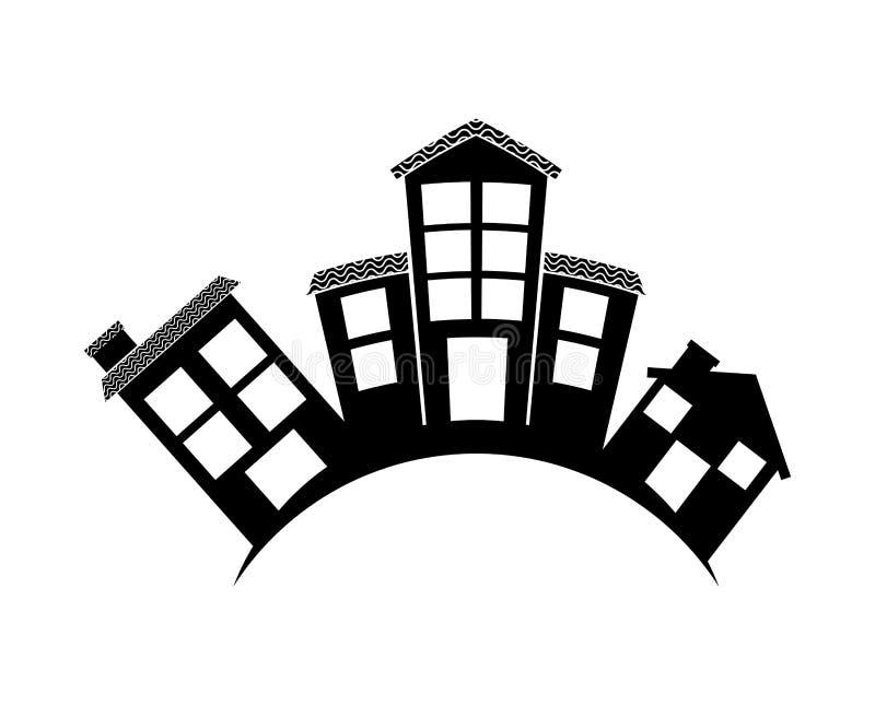 Welkom buurt royalty-vrije illustratie