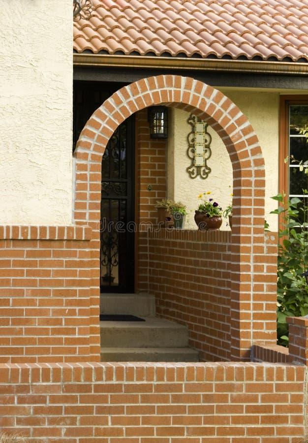 Welkom Huis stock afbeelding