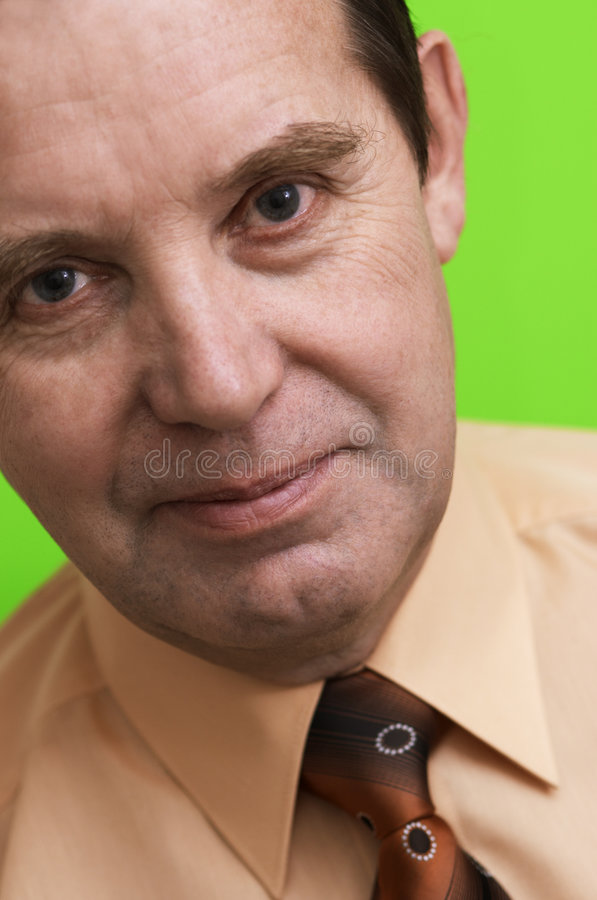 Download Well-being Businessman In Close Up Royalty Free Stock Image - Image: 497996