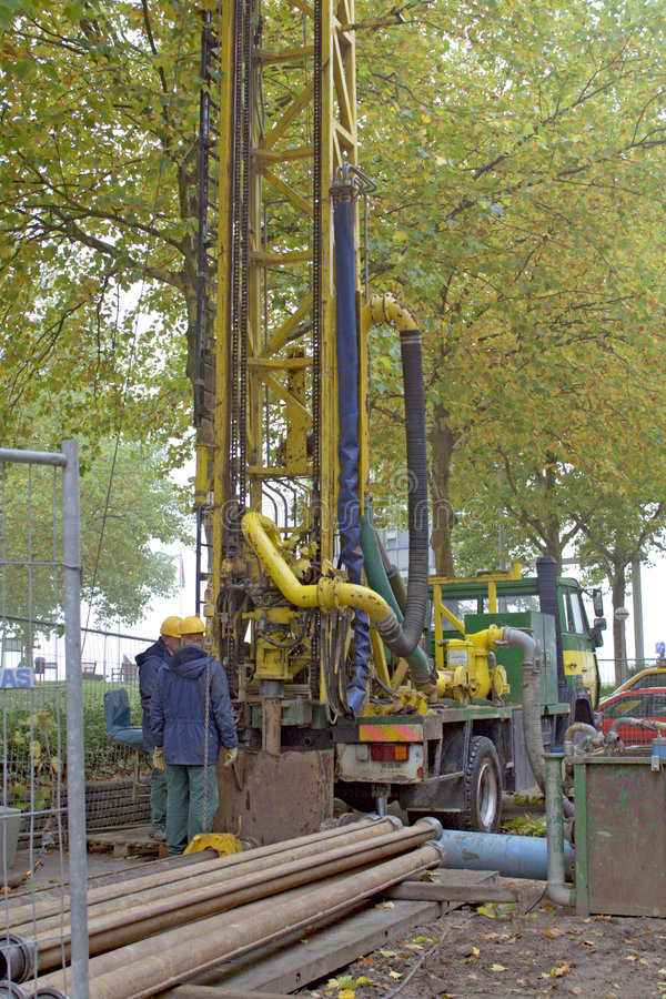 Download Well drilling stock image. Image of well, people, working - 1421853