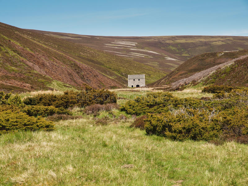 Well of Lecht Mine, Scottish Highlands royalty free stock photos