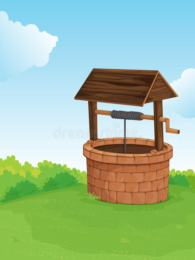 Free Well On A Hill Stock Images - 24469474