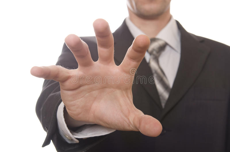 Well shaped business men hand royalty free stock images