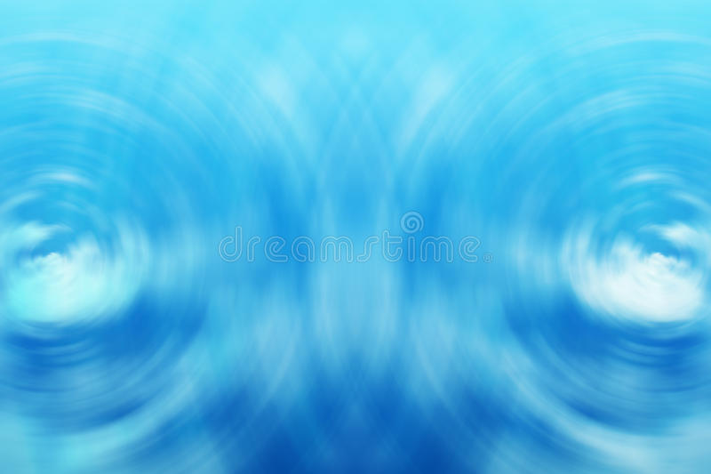 Wellen des blauen Wassers lizenzfreies stockbild