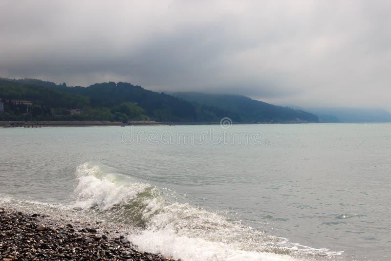 Wellen des Meeres stockfotografie