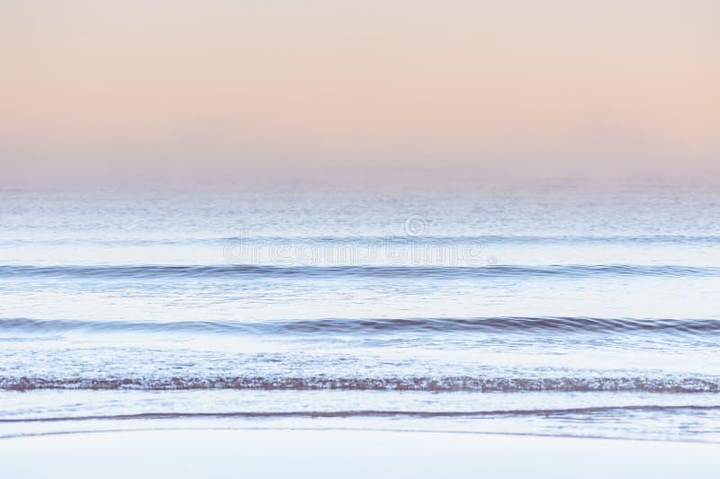 Wellen des Ozeans stockfoto