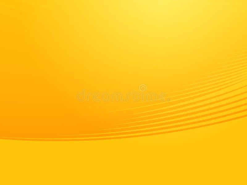Wellenförmige glühende Farben vektor abbildung