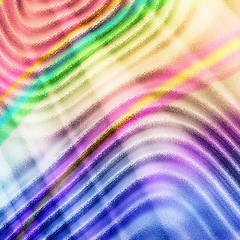 Wellenförmige Zeilen vektor abbildung