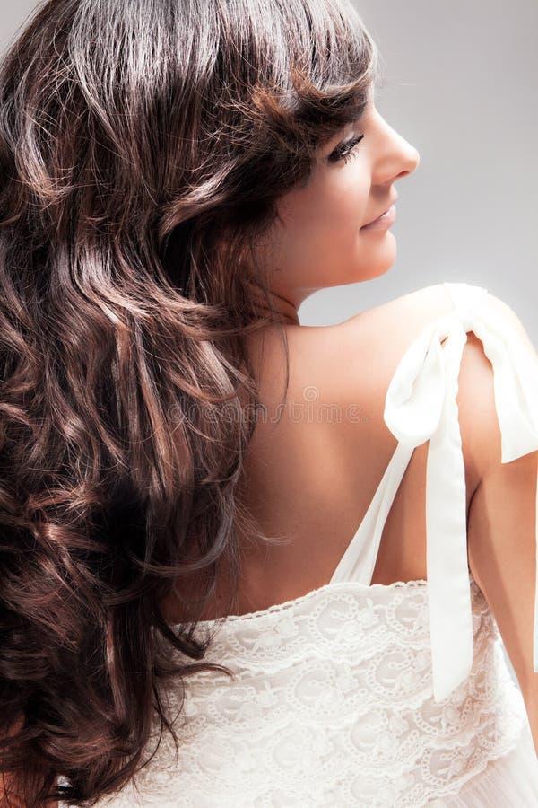 Wellenförmiges Haar lizenzfreies stockbild