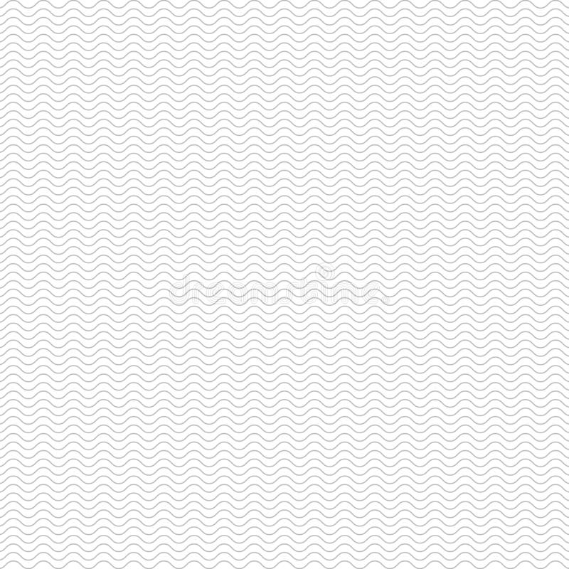 Wellenlinien Musterhintergrund vektor abbildung