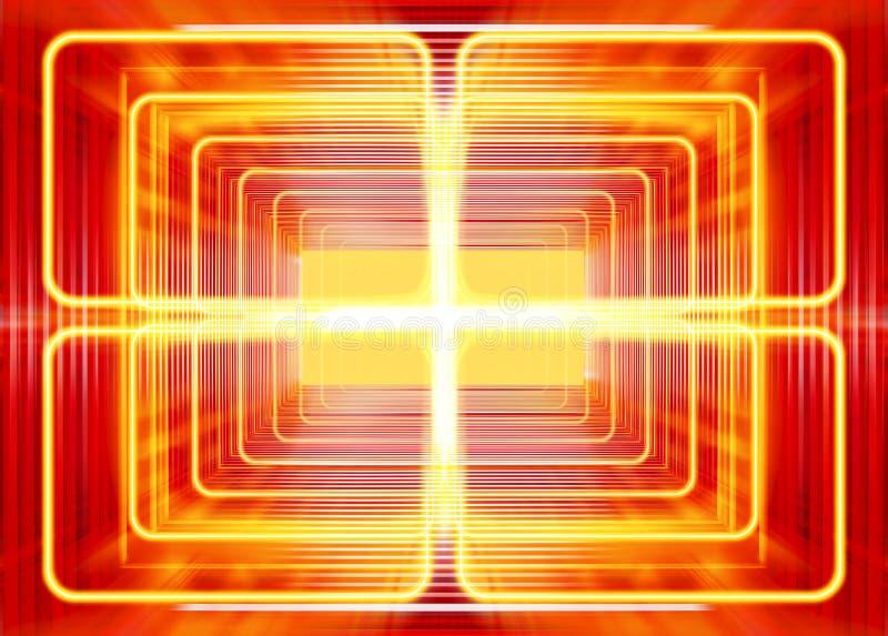 Wellentyp der elektromagnetischen Strahlung vektor abbildung