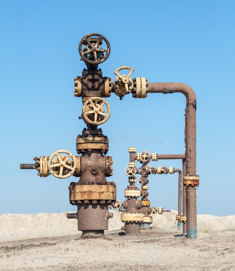 Wellhead. stock photography