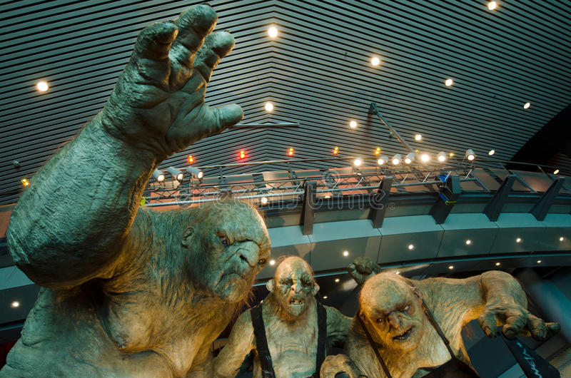 De film Hobbit royalty-vrije stock afbeeldingen