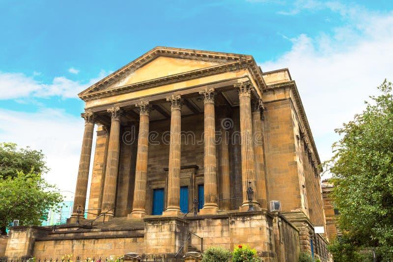 Wellington Church en Glasgow, Escocia foto de archivo libre de regalías