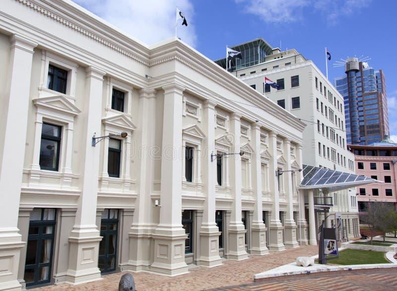 Wellington City Council fotografía de archivo libre de regalías