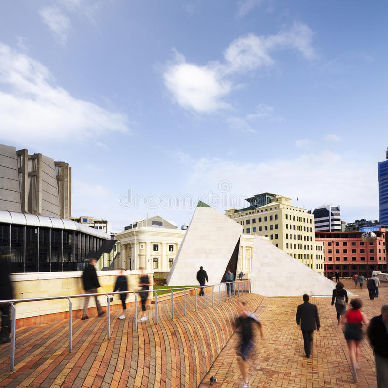 Download Wellington Civic Square New Zealand Stock Image - Image of civic, square: 25319701