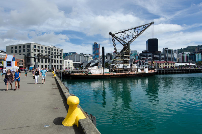 Download Arquitectura Da Cidade De Wellington Imagem Editorial - Imagem de destino, novo: 29844240