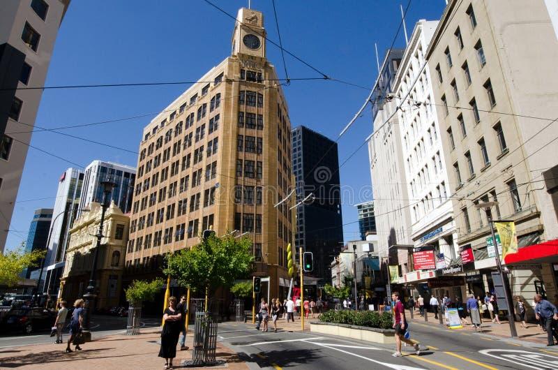 Download Arquitectura Da Cidade De Wellington Imagem Editorial - Imagem de destino, curso: 29848740