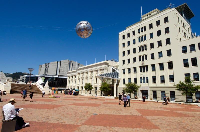 Download O Quadrado Cívico De Wellington Imagem de Stock Editorial - Imagem de arquitetura, urbano: 29849089