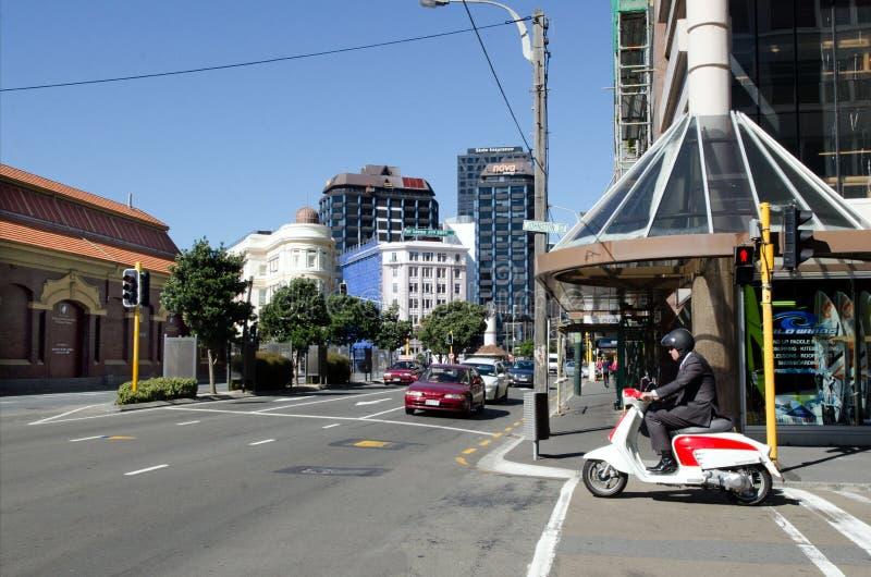 Paysage urbain de Wellington photos stock
