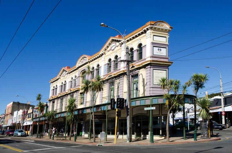 Paysage urbain de Wellington images stock