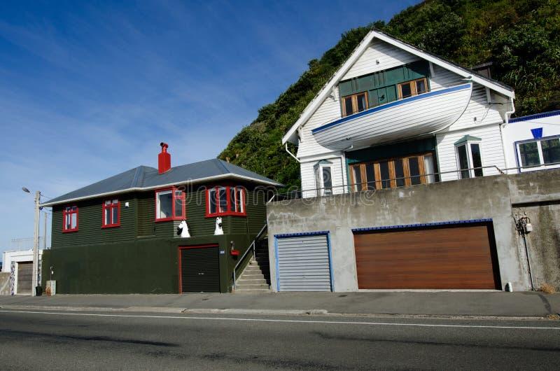 Wellington Cityscape fotografering för bildbyråer