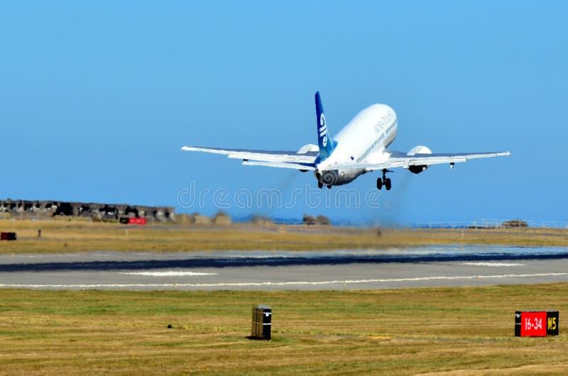 Wellington internationell flygplats royaltyfri foto