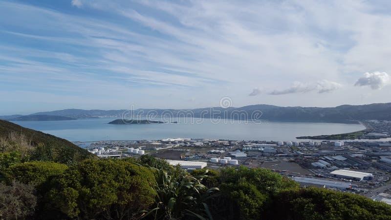 Wellington Harbor stock photos