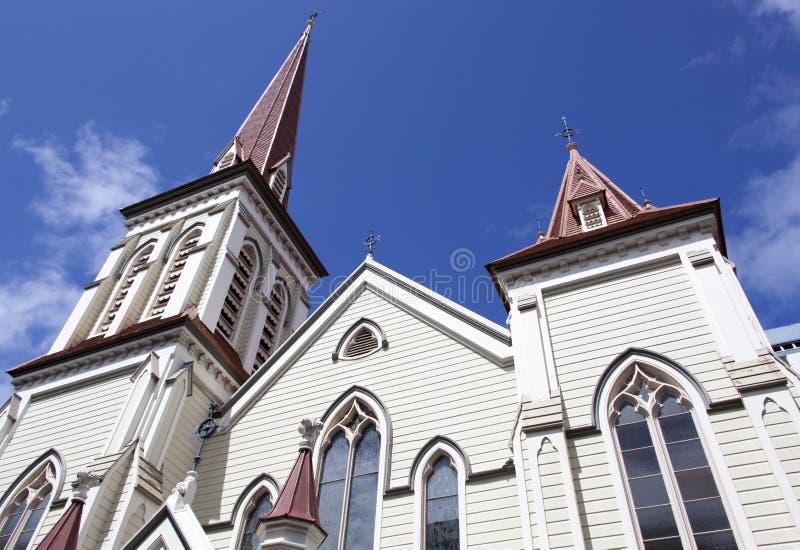 Wellington Historic Church imagen de archivo libre de regalías