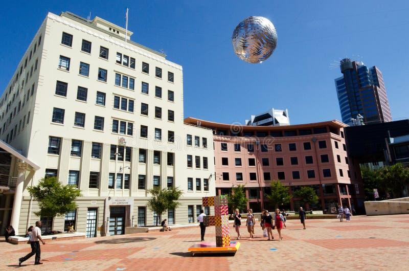 Il quadrato civico di Wellington fotografia stock libera da diritti