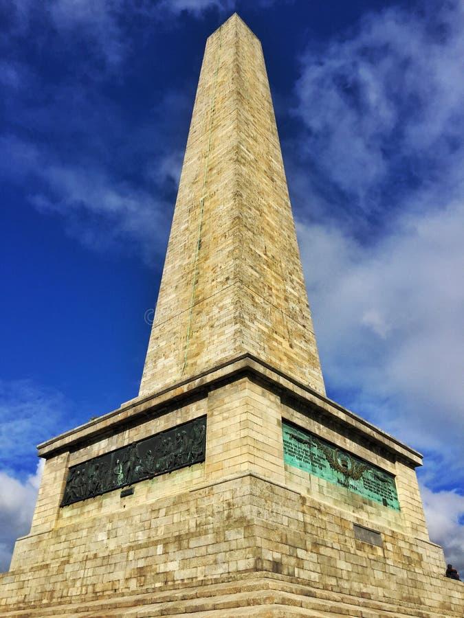 Wellington Monument stockfotos